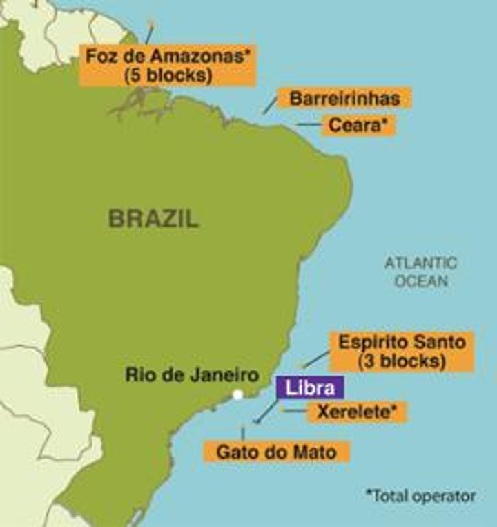 The first appraisal well was spudded in the Libra field offshore Brazil in early August.