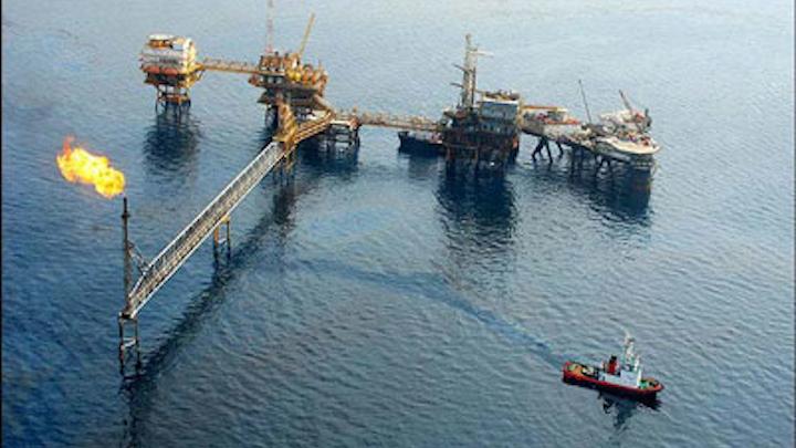 Hendijan oil field