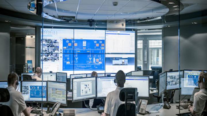 Kongsberg Maritime support center model