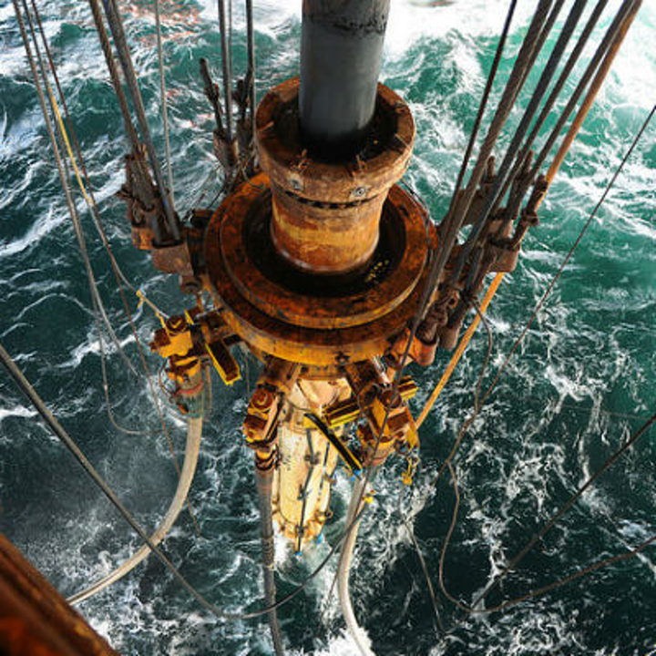 Transocean Leader drilling on Johan Sverdrup field offshore Stavanger.