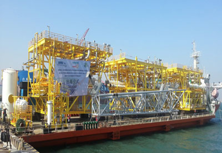 Qingdao McDermott Wuchuan compression process module