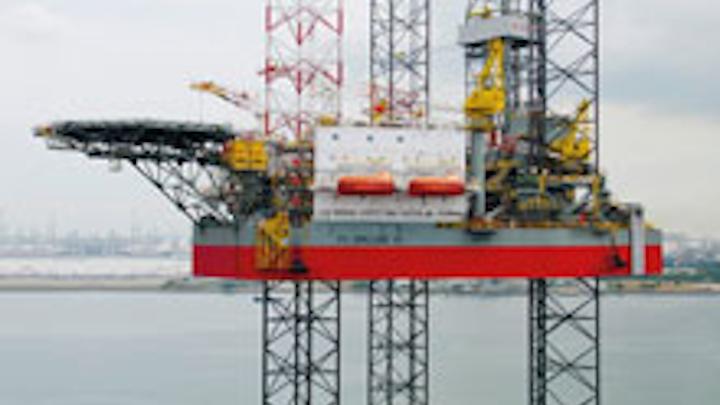 PV Drilling VI, a KFELS B Class jackup drilling rig