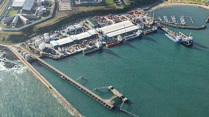 Peterhead offshore supply base