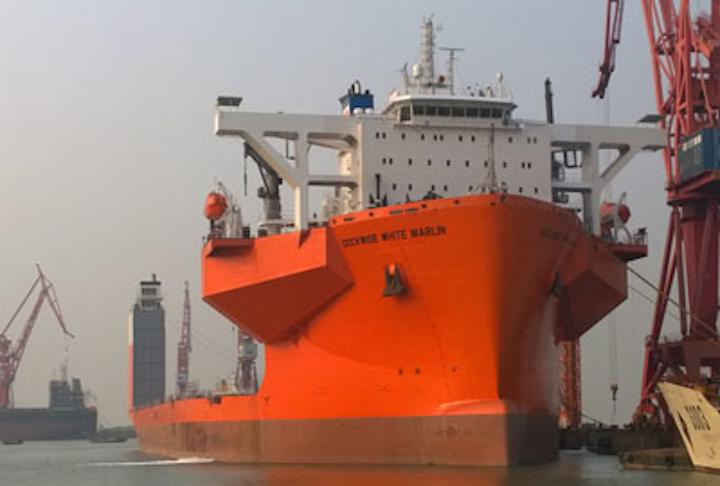 White Marlin heavy transport vessel