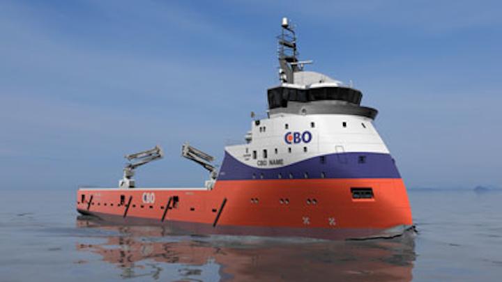 CBO platform supply vessel from ULSTEIN