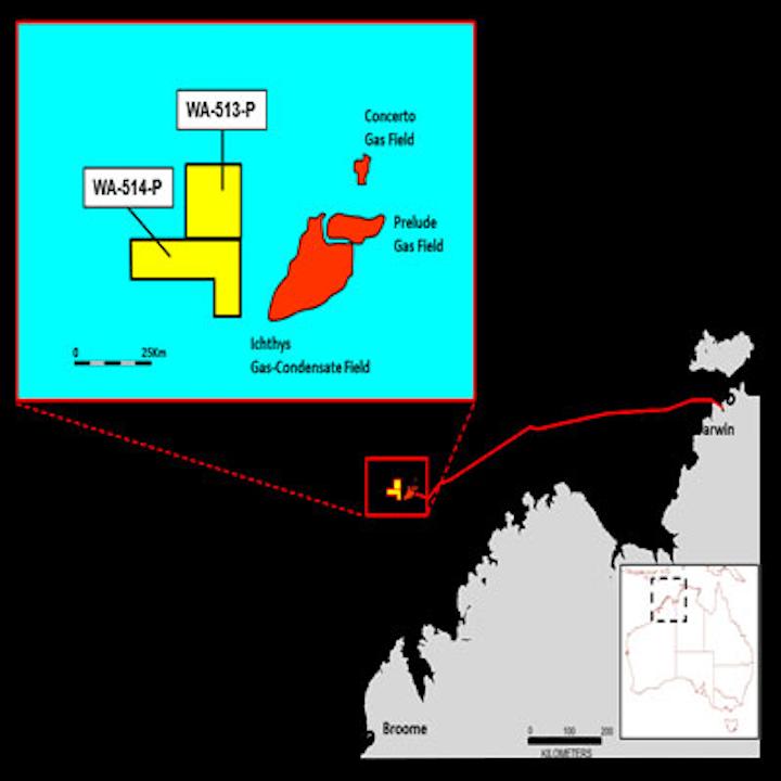 Areas WA-513-P and WA-514-P