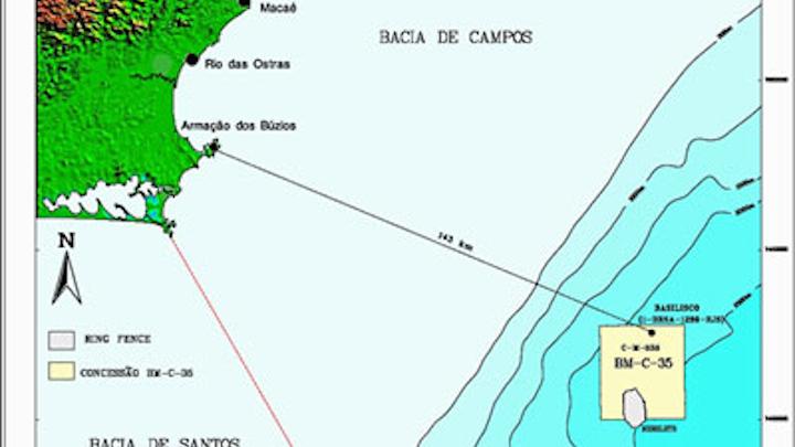 Basilisco structure in the postsalt Campos basin