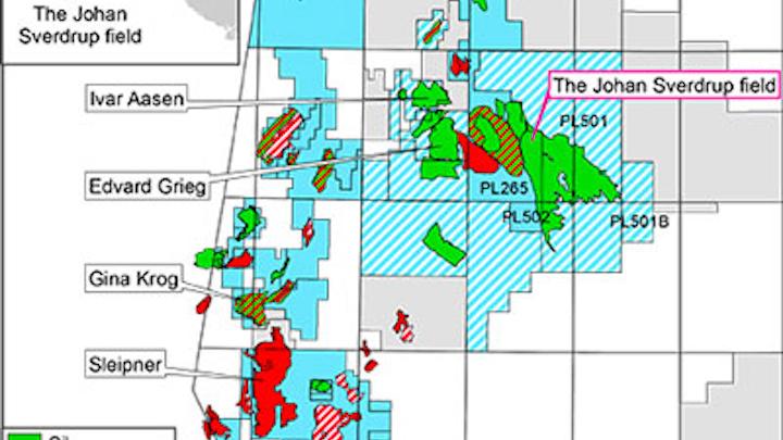 Johan Sverdrup offshore Norway