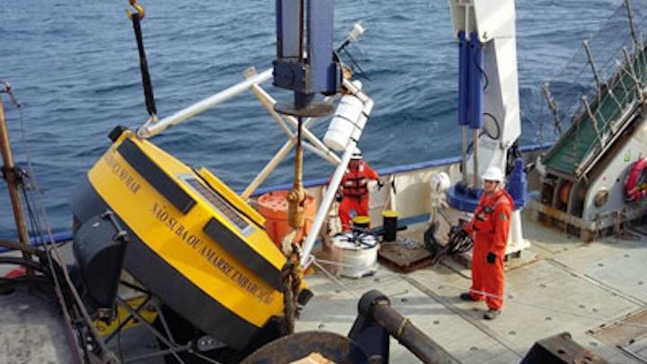 NavCon buoy deployment