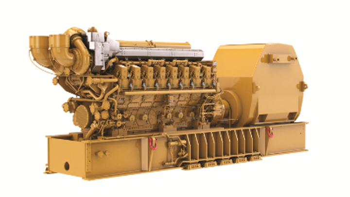 Cat C280 offshore generator