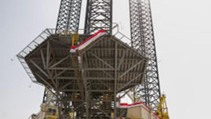 Greatdrill Chaaru jackup drilling rig