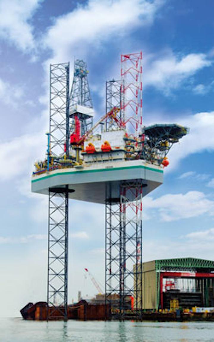 Kukulkan jackup drilling rig