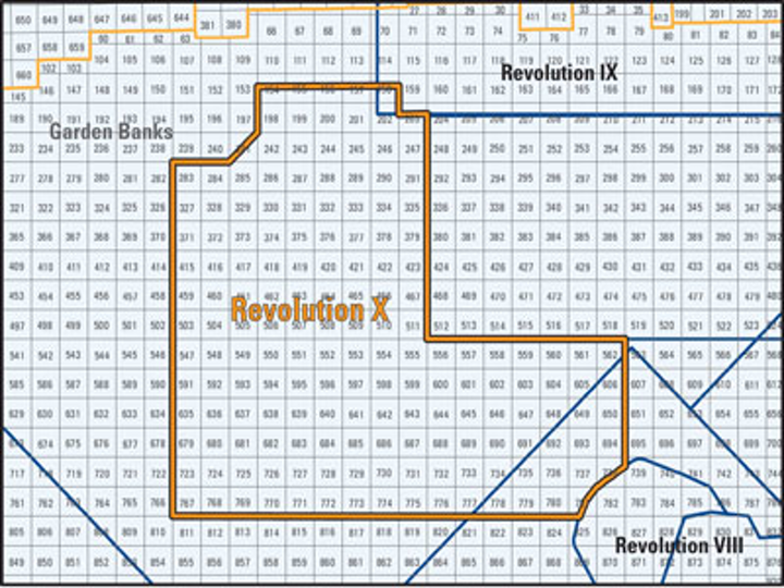 Schlumberger Revolution X seismic survey
