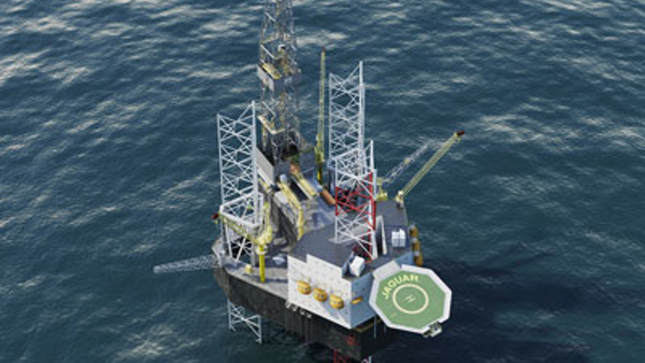 Cameron Letourneau Jaguar class self-elevating mobile offshore drilling unit