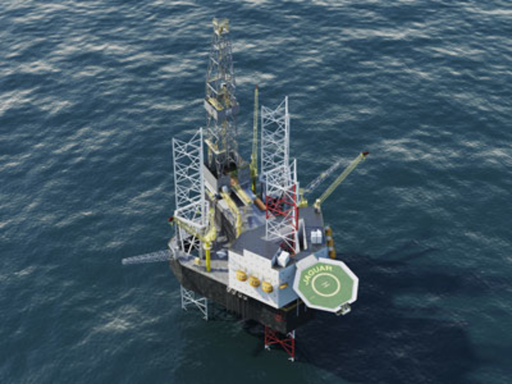 Cameron Letourneau Jaguar class self-elevating mobile offshore drilling unit