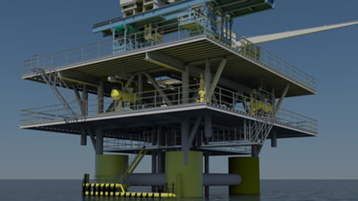 GMC's self-installing buoyant tower for Prinos field
