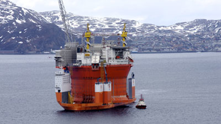 Goliat cylindrical FPSO
