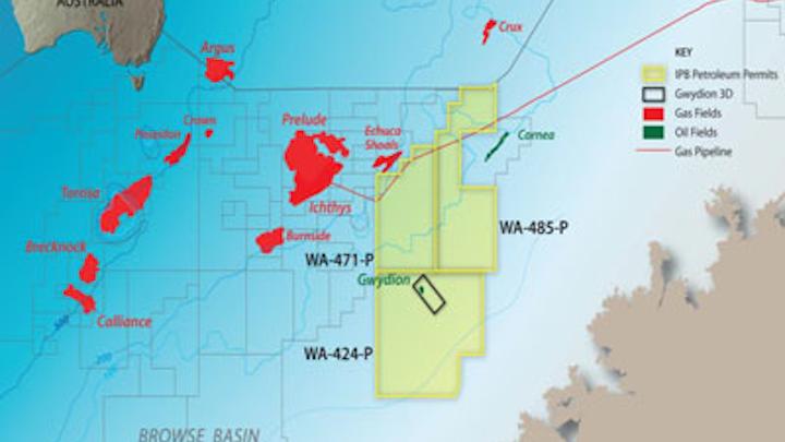 WA-424-P exploration permit offshore Australia