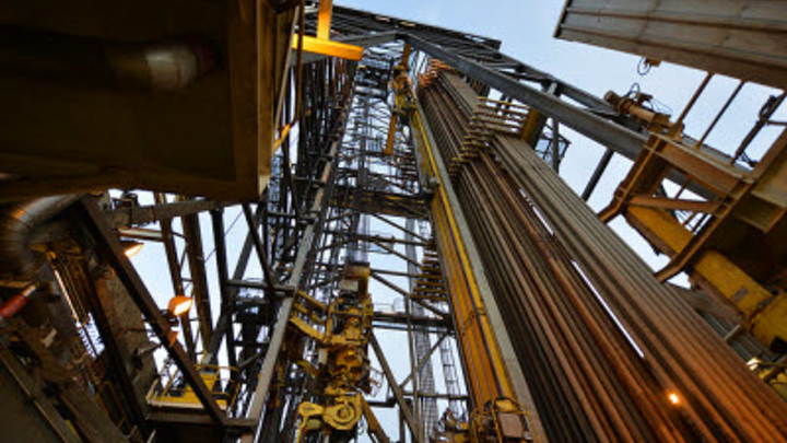 Valemon platform and West Elara drilling rig