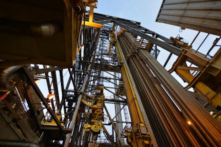 Valemon platform and West Elara drilling rig