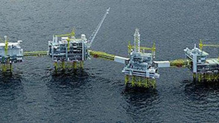 Johan Sverdrup field development in the central Norwegian North Sea