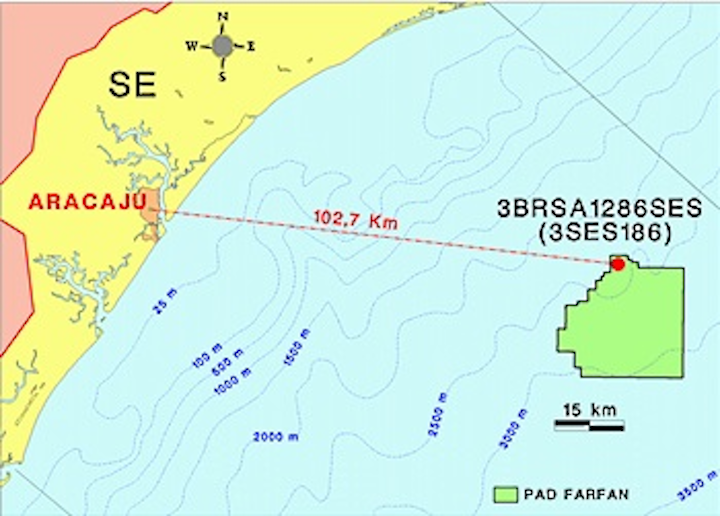 Third extension well at Farfan in the BM-SEAL-11 concession