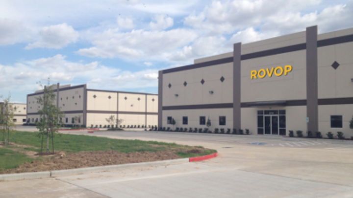 ROVOP's new Western Hemisphere headquarters facility in Houston.