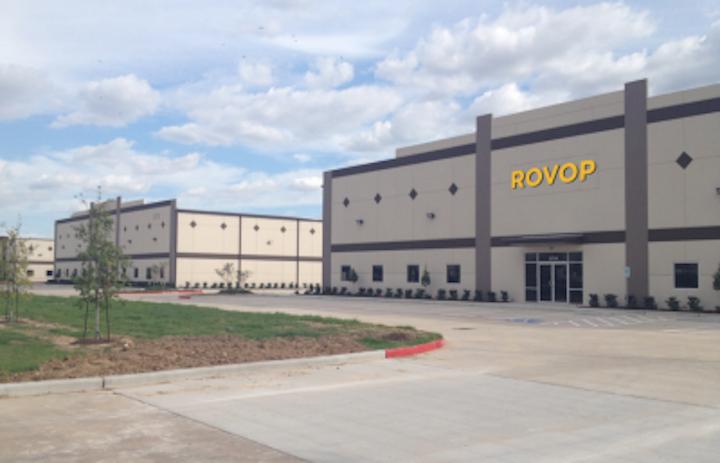 ROVOP's new Western Hemisphere headquarters facility in Houston.