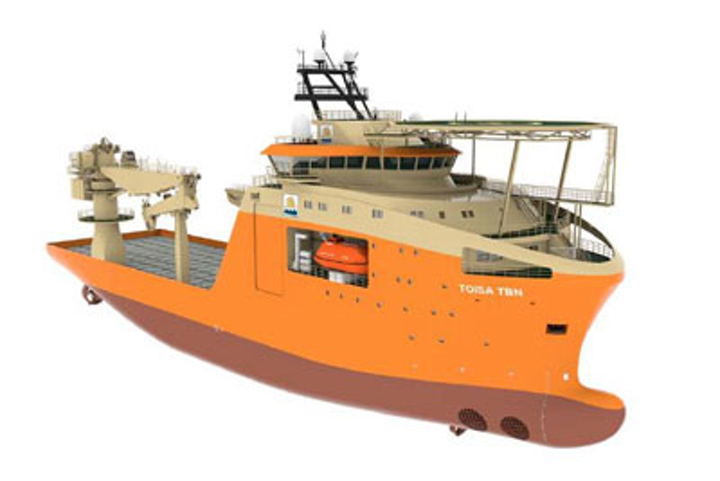 Rendering of multi-purpose vessels to be built by Qingdao Wuchuan