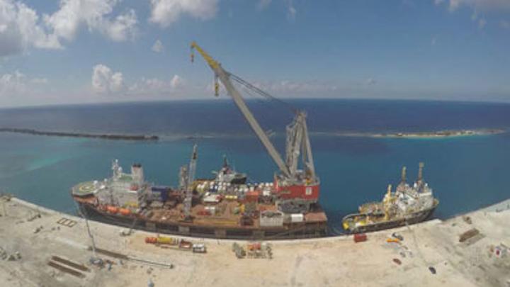Stanislav Yudin crane vessel