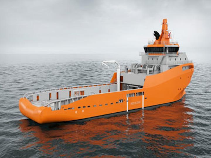 Wärtsilä's new anchor handling tug supply vessel design