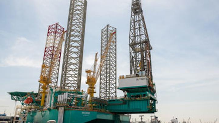 Butinah jackup drilling rig