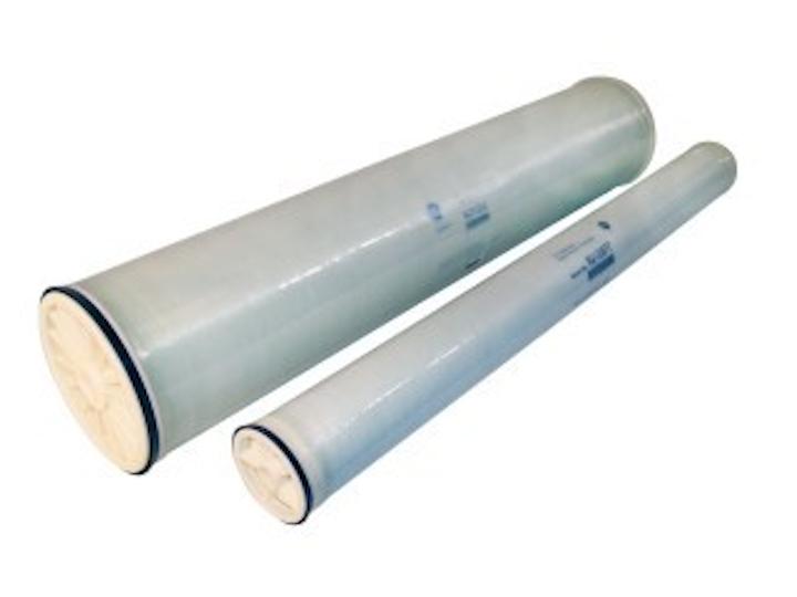 GE nanonmembrane sulfate removal filter