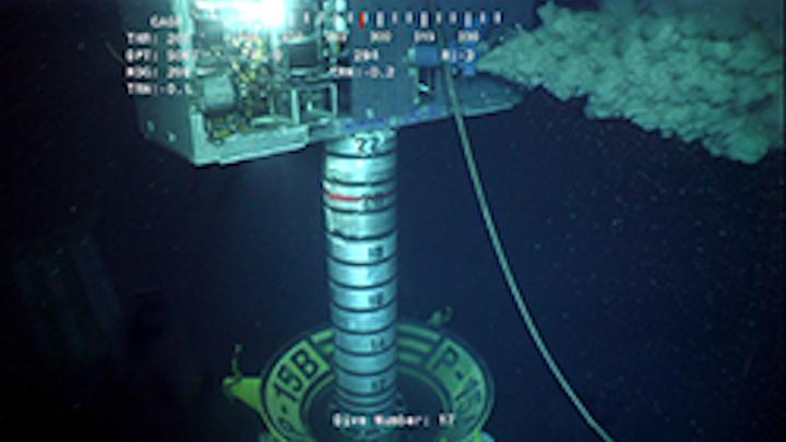 Oceaneering's Deepwater Pile Dredge