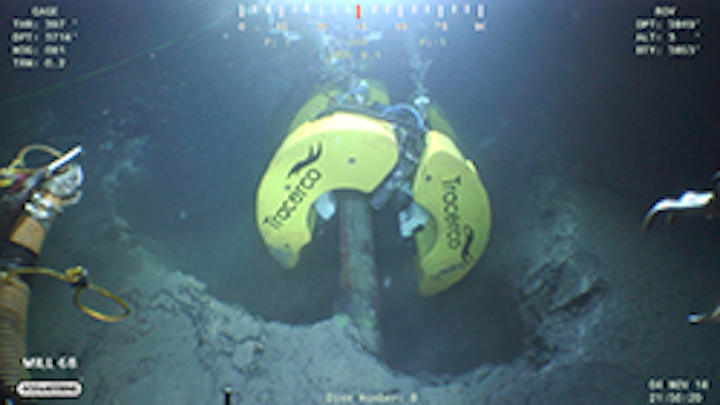 Tracerco's Discovery subsea pipeline inspection tool