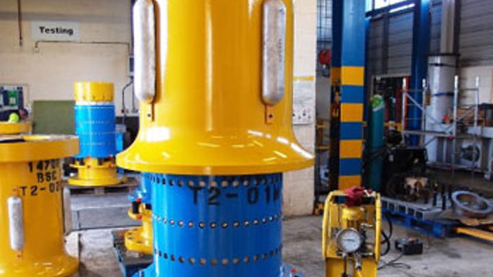 First Subsea Relatchable bend stiffener