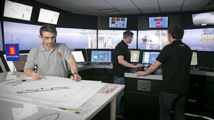 Kongsberg Maritime's Houston training center
