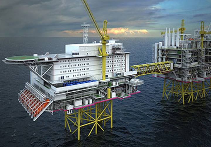 Statoil's Johan Sverdrup utility and living quarters platform