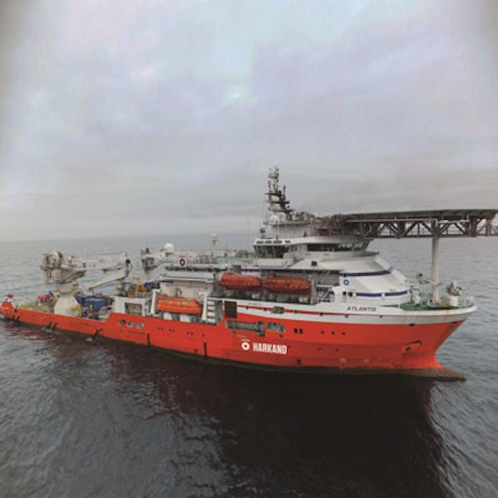 Harkand Atlantis service vessel