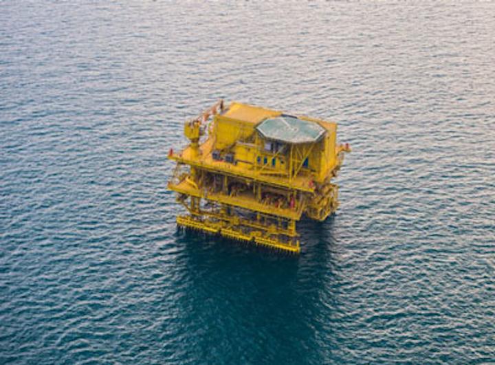 TP-20 tie-in platform offshore Saudi Arabia