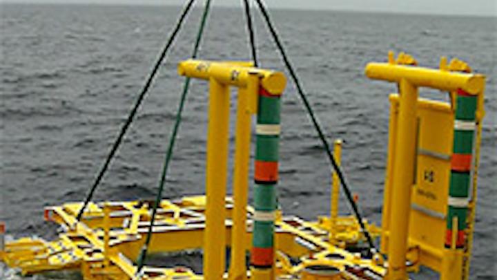 Aasta Hansteen subsea templates