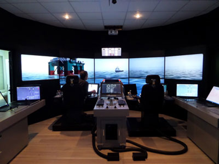 VSTEP maritime simulator