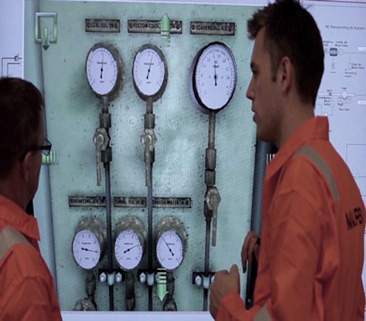 Kongsberg Maritime's engine room simulation