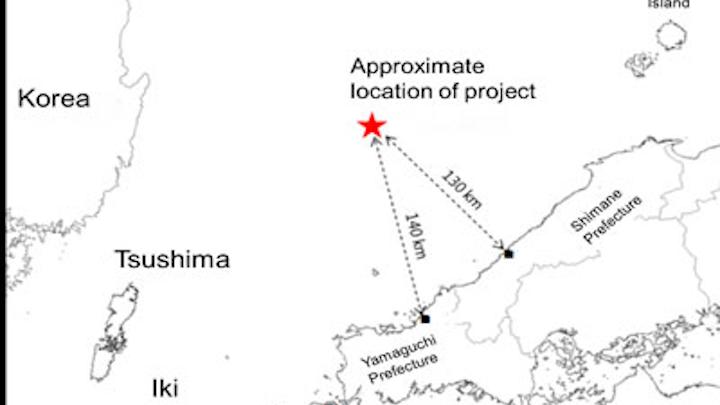 Offshore Japan