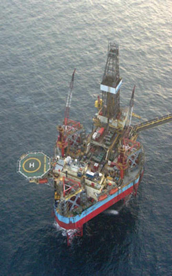 Maersk Endurer jackup drilling rig