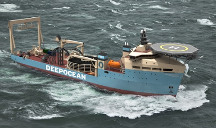 subsea support vessel Maersk Connector