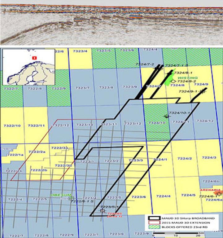 3D SHarp Broadband seismic data in the Maud basin