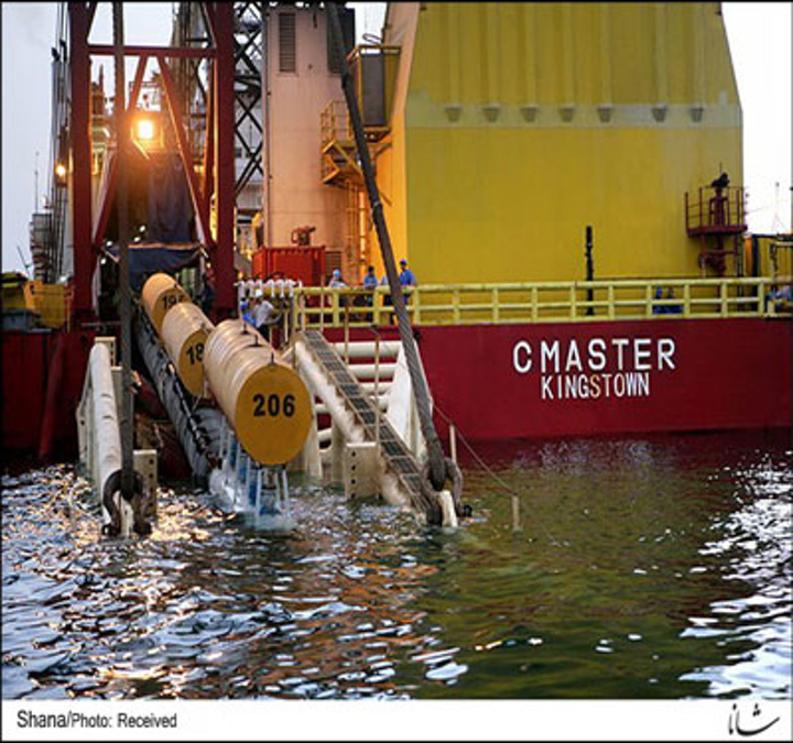 Subsea pipelay for South Pars phases 20 and 21