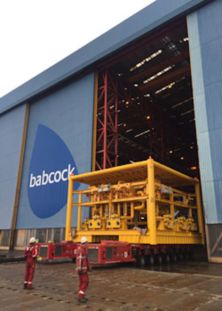 Subsea manifolds for BP's Quad 204 redevelopment