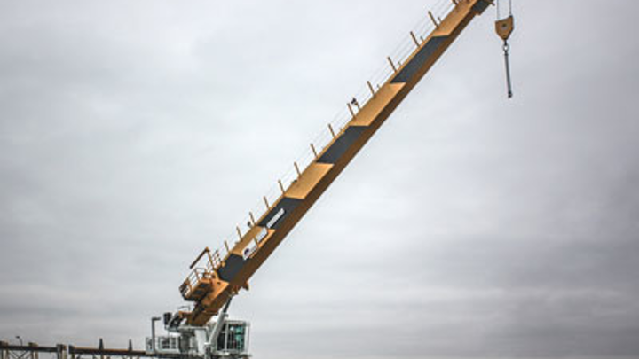 Crane package for an FSO on Total's Martin Linge field in the Norwegian North Sea